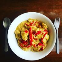 Home made Thai Green curry